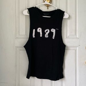 Taylor Swift 1989 Tour Muscle Shirt Size Small